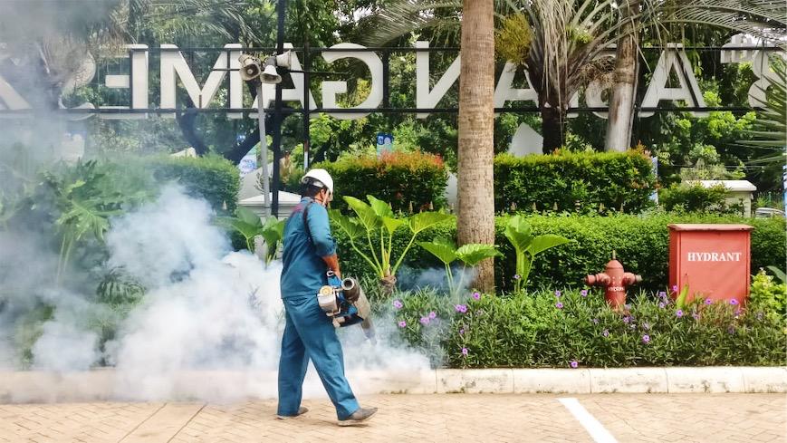 aktivitas fogging nyamuk